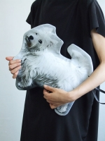 Cut Out Clutch Bag - Dog