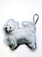 Cut Out Clutch Bag - Dog - Other Image