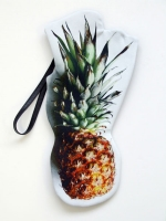 Cut Out Clutch Bag - Pineapple - Other Image